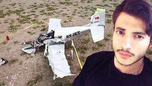 Son dakika... Dün eğitim uçağı düşmüştü...Yaralı pilot adayından acı haber geldi