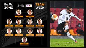 Yusuf Yazıcı, UEFA Avrupa Liginde haftanın 11ine seçildi