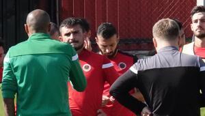 Gençlerbirliğinde Yeni Malatyaspor hazırlıkları Dar alanda taktik uygulamaları...