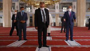 Ankarada cami ve spor salonlarında koronavirüs denetimi