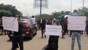 Nijeryada protestolar devam ederken Rivers eyaletinde ordu sokağa indi