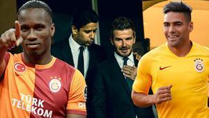 Son Dakika | Galatasarayda Başkan Mustafa Cengizin kriz yaratan açıklamalarından sonra bomba Radamel Falcao ve David Beckham...