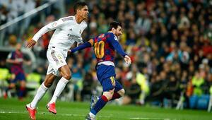 El Clasico yarın 244. kez oynanacak Real Madrid, Barcelonanın 1 maç önünde