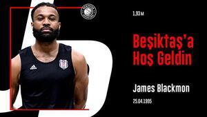Beşiktaş, ABDli basketbolcu James Blackmonu kadrosuna kattı