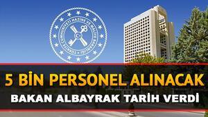 Hazine ve Maliye Bakanlığı 5 bin personel alımı ataması ne zaman Bakan Albayrak duyurdu: İşte kadro dağılımı ve başvuru tarihi