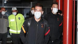 Galatasaray kafilesi Erzurumda