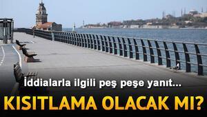 Son dakika haberi: Sokağa çıkma yasağı gelecek mi Cumhurbaşkanı Erdoğan ve Bakan Kocadan kısıtlama cevabı