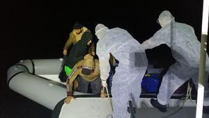 Marmaris açıklarında 21 sığınmacı kurtarıldı