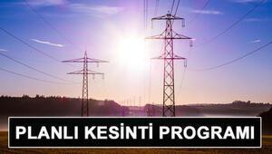 Elektrikler ne zaman gelecek BEDAŞ ve AYEDAŞ 24 Ekim elektrik kesintisi programı