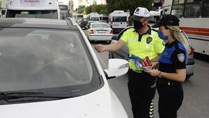 Polis korna çalmayın diye uyardı, çalanlara ceza yazdı