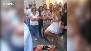 Aleyna Tilki sokak müzisyenliği yapmış
