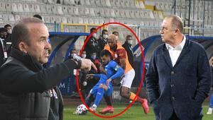 Son Dakika | BB Erzurumspor-Galatasaray maçında damga vuran o an Karar sonrası çıldırdı