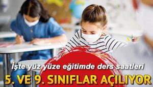 6. 7. 10 ve 11. sınıflarda okullar ne zaman açılacak