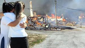 Son dakika... Boluda köyde feci yangın Çok sayıda ev kül oldu
