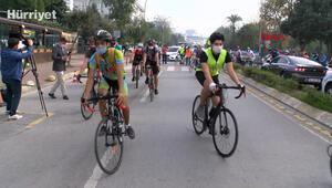 Kadıköyde bisikletli ölümlerine karşı eylem