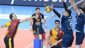 Galatasaray HDI Sigorta 2-3 Tokat Belediye Plevne