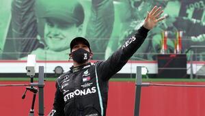 Son Dakika Haberi   Portekiz Grand Prixsini kazanan Hamilton, F1 tarihine geçti Michael Schumacheri geçti