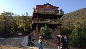 Küre Dağları Milli Parkındaki 3 katlı Seyir Terasına ziyaretçi akını