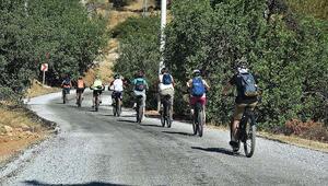 Bodrumda alternatif bisiklet rotaları Rus turistlere tanıtıldı