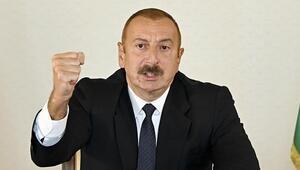Son dakika haberi: Aliyevden ateşkesi bozan Ermenistana sert sözler
