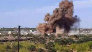 Son dakika... Rus savaş uçakları vurdu Çok sayıda ölü var...
