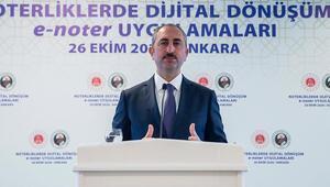 Son dakika... Adalet Bakanı Gül açıkladı Noterlik için önemli hazırlık...