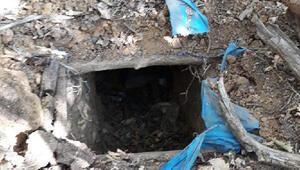Muşta PKKnın sığınağı bulundu Biri 3 odalı 2 sığınak...