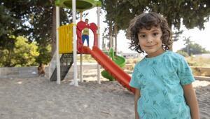Silifkeli çocuklar istedikleri parka kavuştu