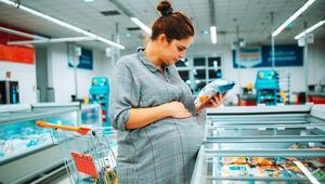 Gebelikte tüketilen işlenmiş ve paketli gıdalara dikkat