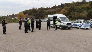 Karantina sürelerinin bitmesine 3 saat kala polis uygulamasında yakalandılar