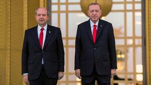 KKTC Cumhurbaşkanı Ersin Tatar Ankarada