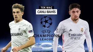 Real Madrid zorlu Gladbach deplasmanında Galibiyetlerine verilen iddaa oranı...