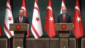 Son dakika haberi: Cumhurbaşkanı Erdoğan ve Ersin Tatardan önemli açıklamalar