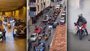 Çekmeköyde düğün konvoyu terörüne 14 gözaltı; 60 bin 670 lira ceza