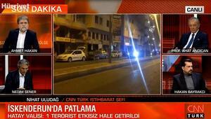 CNN TÜRK İstihbarat Şefi Nihat Uludağ açıklamalarda bulundu