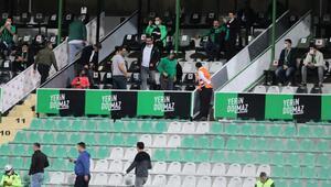 Beşiktaş maçında Denizlisporun locası dikkat çekti