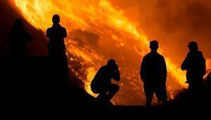 Son dakika haberi: ABDde yangın kabusu bitmiyor 100 binden fazla kişi için tahliye emri