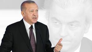 Son dakika... Cumhurbaşkanı Erdoğandan Wilders hakkında suç duyurusu