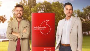 Aras Bulut İynemli, Vodafoneun reklam yüzü oldu