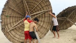 Vietnamda tayfun 1,3 milyon kişiyi evinden edebilir