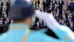Son dakika haberler: Eski Sağlık Bakanı Osman Durmuş için TBMMde tören