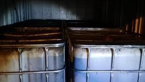 Niğde'de 6 bin litre sahte akaryakıt ele geçirildi