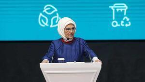 Emine Erdoğan: Ülkenin toprağını, suyunu ve havasını pirüpak edene kadar çalışmalıyız