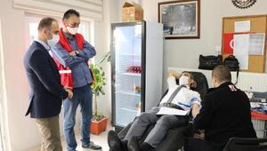 Muğlalı ormancılar 120 ünite kan bağışında bulundu