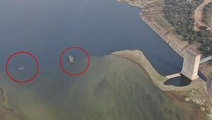 Son dakika haberleri... İstanbul barajları kritik seviyede Tedirgin eden görüntü