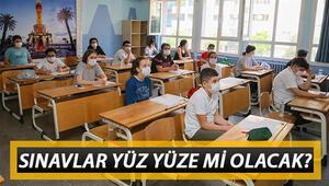 Son dakika haberi: Okullarda sınavlar nasıl olacak, yüz yüze mi yapılacak MEBden 81 ile sınav talimatı