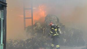 Kahramanmaraşta depo yangını