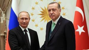 Son dakika haberleri.... Cumhurbaşkanı Erdoğan ile Vladimir Putin görüştü