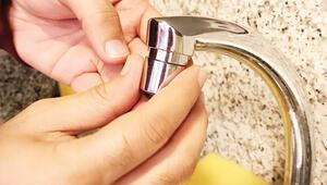 Üsküdar'ın musluklarında su tasarrufu