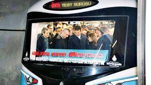 İstanbulun yeni metrosu bugün açılıyor... İlk 10 gün ücretsiz